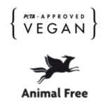 PETA Approved - Vegan - Animal Free